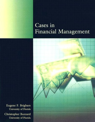 Cases in Financial Management   2004 edition cover
