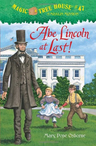 Abe Lincoln at Last!   2011 edition cover