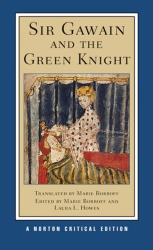 Sir Gawain and the Green Knight   2009 9780393930252 Front Cover
