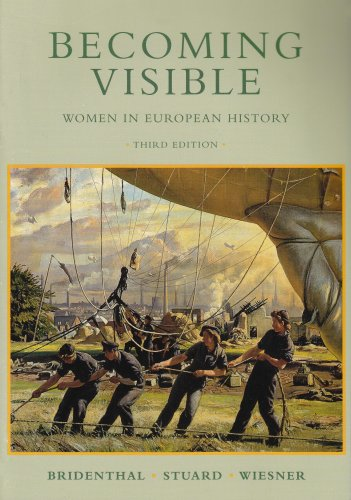Becoming Visible Women in European History 3rd 1998 edition cover