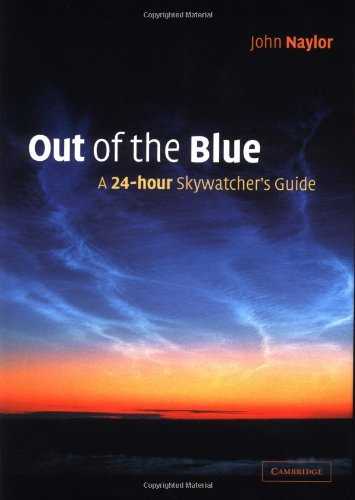 Out of the Blue A 24-Hour Skywatcher's Guide  2002 9780521809252 Front Cover