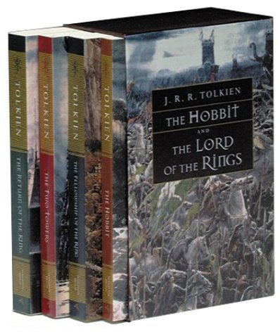 Lord of the Rings and the Hobbit   1999 edition cover