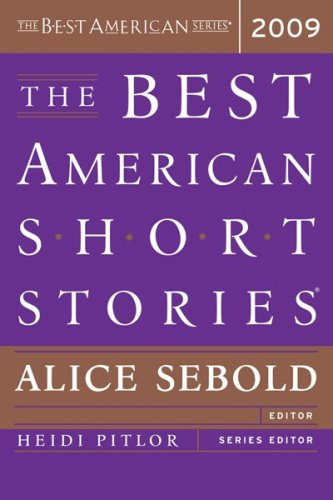 Best American Short Stories 2009   2009 edition cover