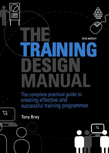 Training Design Manual The Complete Practical Guide to Creating Effective and Successful Training Programmes 2nd 2009 edition cover