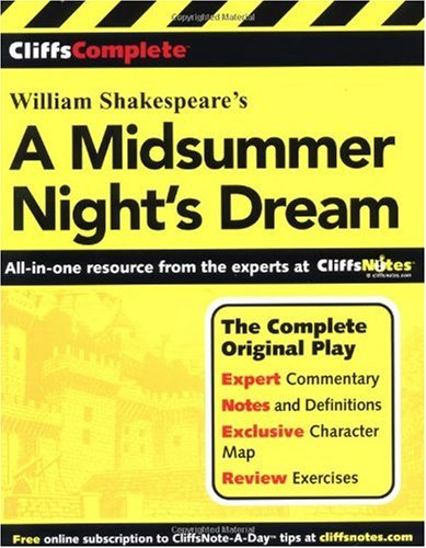 William Shakespeare's a Midsummer Night's Dream   2001 (Student Manual, Study Guide, etc.) edition cover