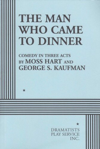Man Who Came to Dinner  N/A edition cover