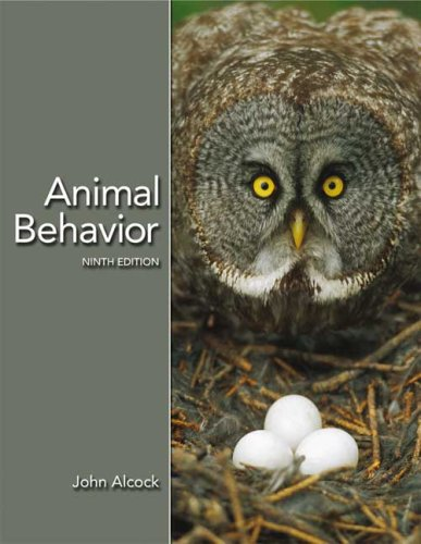 Animal Behavior An Evolutionary Approach 9th 2009 (Revised) edition cover