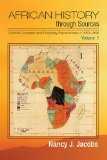 African History Through Sources Colonial Contexts and Everyday Experiences, C. 1850-1946  2014 edition cover