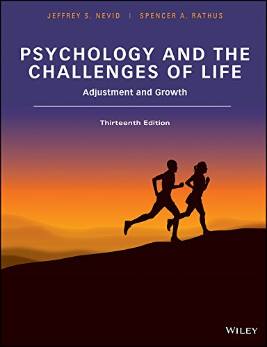 Psychology and the Challenges of Life Adjustment and Growth 13th 2016 9781118978252 Front Cover