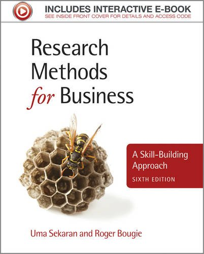 Research Methods for Business A Skill-Building AP Proach 6th 2013 edition cover