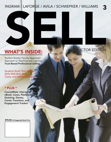 SELL-2013 >INSTRS.ED< N/A 9781133562252 Front Cover