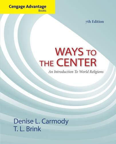 Ways to the Center: An Introduction to World Religions  2013 edition cover