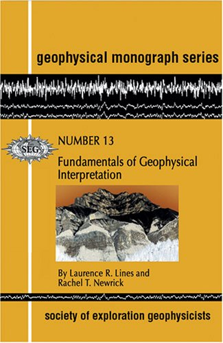Fundamentals of Geophysical Interpretation   2004 edition cover