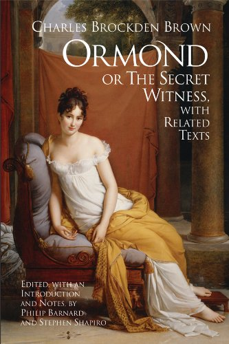 Ormond Or the Secret Witness, with Related Texts  2009 edition cover