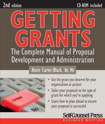 Getting Grants The Complete Manual of Proposal Development and Administration 2nd 2009 edition cover