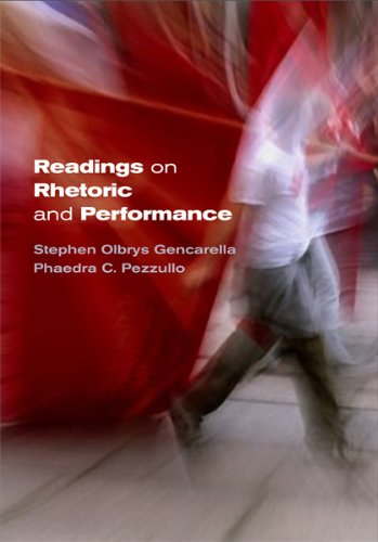 Readings on Rhetoric and Performance   2010 edition cover