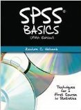 SPSS BASICS                             N/A edition cover