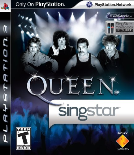 SingStar Queen - Stand Alone PlayStation 3 artwork