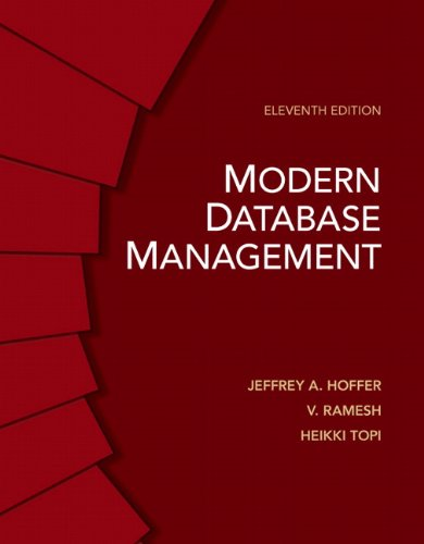 Modern Database Management  11th 2013 9780132662253 Front Cover