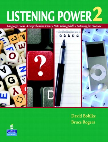Listening Power Language Focus - Comprehension Focus - Note Taking Skills - Listening for Pleasure  2011 edition cover