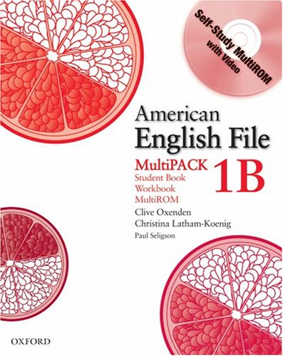 American English File  Workbook  9780194774253 Front Cover