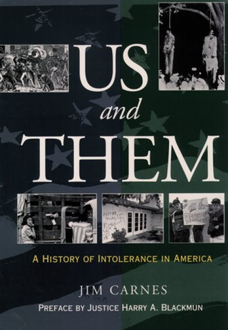 Us and Them A History of Intolerance in America N/A edition cover