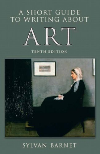 Short Guide to Writing about Art  10th 2011 edition cover