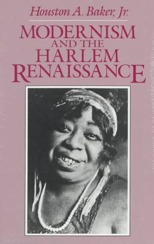 Modernism and the Harlem Renaissance   1997 (Reprint) edition cover
