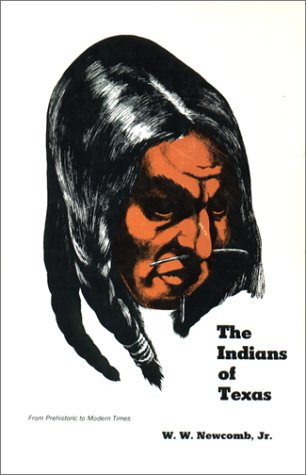 Indians of Texas From Prehistoric to Modern Times  1961 edition cover