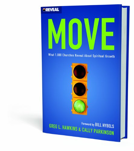 Move What 1,000 Churches Reveal about Spiritual Growth  2011 edition cover