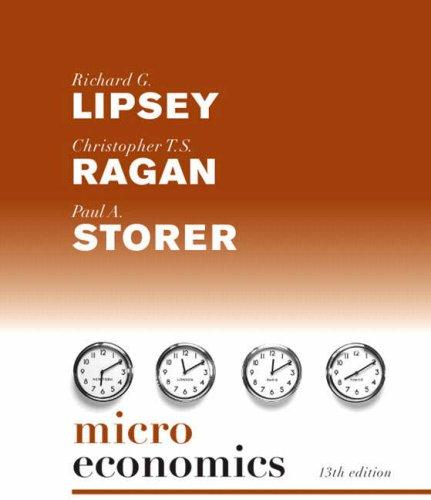 Microeconomics  13th 2008 edition cover