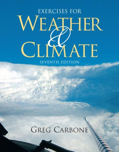 Exercises for Weather and Climate  7th 2010 edition cover