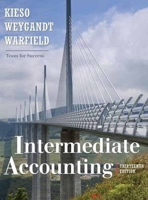 Intermediate Accounting 13E Binder Ready Version with WileyPlus  N/A edition cover