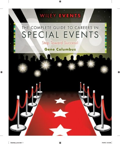 Complete Guide to Careers in Special Events   2011 edition cover