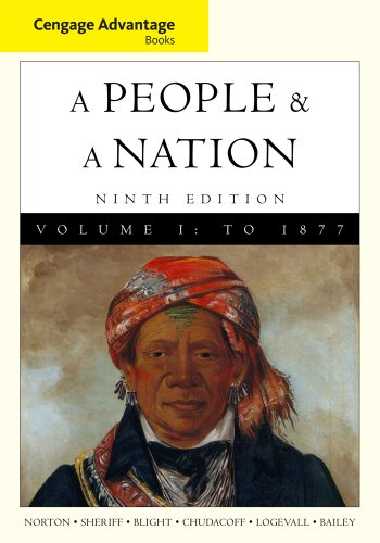 People and a Nation A History of the United States 9th 2012 edition cover