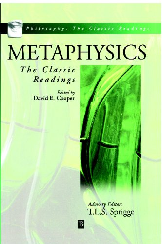Metaphysics The Classic Readings  2000 edition cover