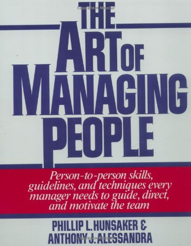 Art of Managing People   1986 9780671628253 Front Cover