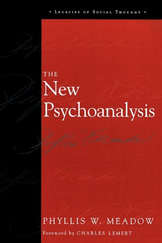 New Psychoanalysis   2003 9780742528253 Front Cover