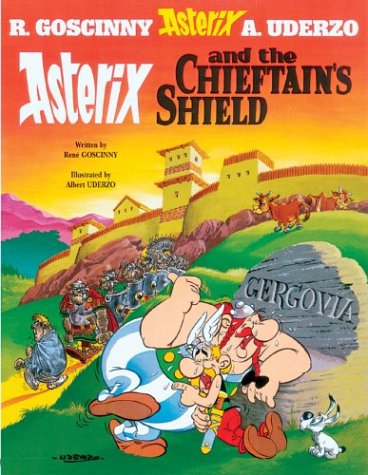 Asterix and the Chieftain's Shield   2005 edition cover