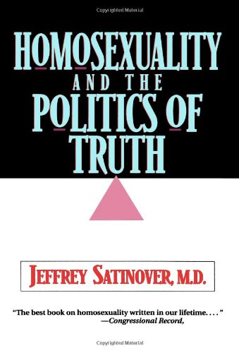 Homosexuality and the Politics of Truth   1996 edition cover