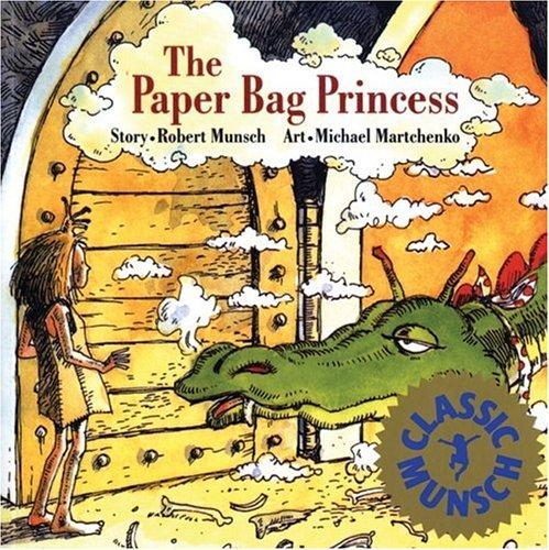 Paper Bag Princess  45th edition cover