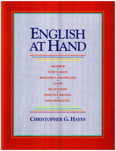 English at Hand 1st edition cover