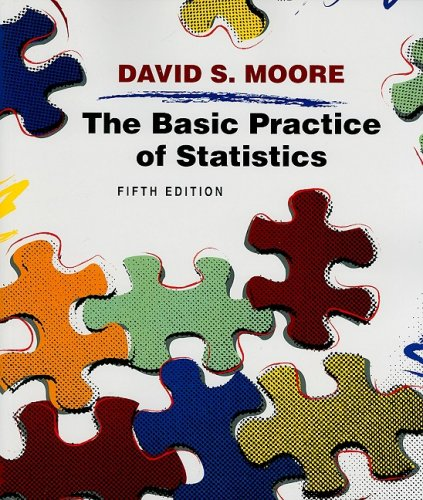 Basic Practice of Statistics  5th 2009 (Student Manual, Study Guide, etc.) edition cover
