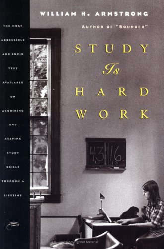 Study Is Hard Work  2nd 9781567920253 Front Cover