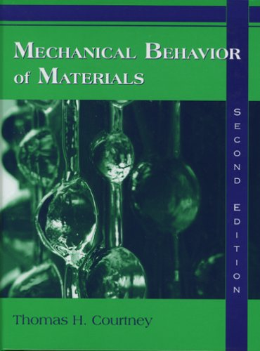 Mechanical Behavior of Materials  2nd 2000 edition cover