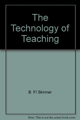 Technology of Teaching   2003 edition cover