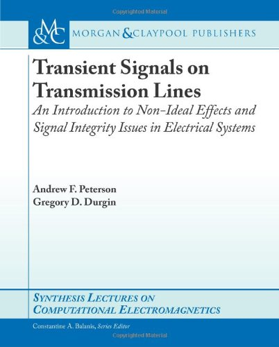 Transient Signals on Transmission Lines   2009 edition cover