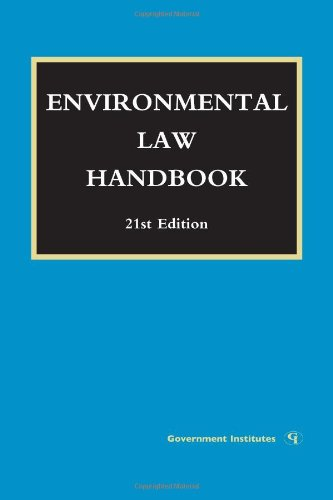 Environmental Law Handbook  21st (Revised) 9781605907253 Front Cover