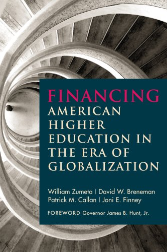 Financing American Higher Education in the Era of Globalization   2012 edition cover