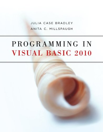 Programming in Visual Basic 2010   2011 9780073517254 Front Cover